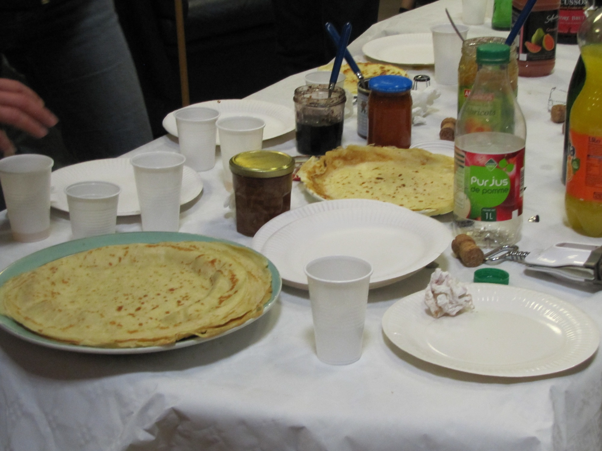 Crêpes Party au club house